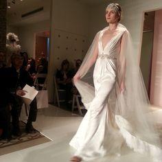 Reem Acra wedding dress, fall 2014 collection. Photo: Charanna K. Alexander/The New York Times