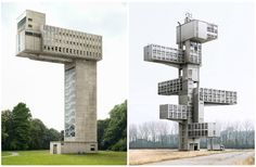 Belgian architecture photographer Filip Dujardin creates new monuments - from existing buildings