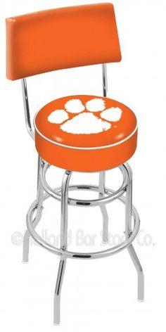 NCAA Clemson Tigers Bar Stool Seat Cover