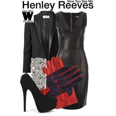 Inspired by Isla Fisher as Henley Reeves in 2013's Now You See Me.