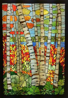 Mary Lake in the Fall by Ellen Wildridge