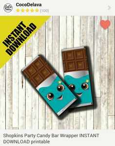 Cheeky Chocolate Printable Candy Bar Wrapper - Etsy