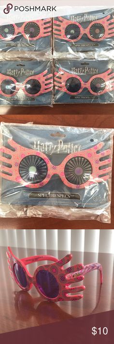 Luna Lovegood Spectrespecs Glasses The glasses Luna Lovegood wears in Harry Potter movies, must have accessory for any Luna Lovegood costume! Other
