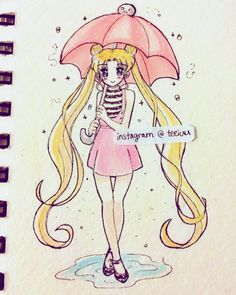 Now it's Sailor moon in her casual outfit from Sailor Moon Crystal~ ☺️