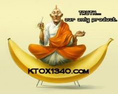 """Mr. Dave Hayes is """"The banana Guru."""" His motto is,""""Don't get a banana in your tailpipe."""" Find him here... https://twitter.com/bloodorange65 with the band and here with the Radio Station... http://www.ktox1340.com/ktox/ and please check him out."""