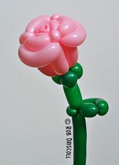 Best balloon rose I've ever seen! Wish I could find the pattern though...