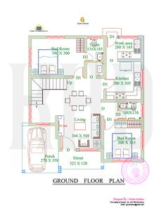 1738 Square Feet 4 Bedroom Double Floor Sloping Roof Home Design and Elevation