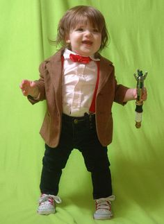 there are pictures of this baby as every doctor who. BEST PARENTS EVER.