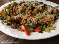 Miracle Noodle Stir Fry, #hcg diet recipe, Phase 3 friendly, can modify for phase 2