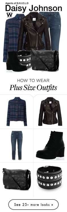 """""""Agents of S.H.I.E.L.D."""" by wearwhatyouwatch on Polyvore featuring Isabel Marant, Anine Bing, Bling Jewelry, Frye, Refresh, television and wearwhatyouwatch"""