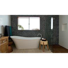 Mozaiek riverstone pebble kiezelvloer grey
