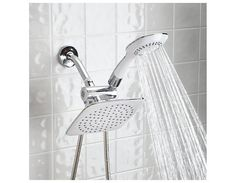Dual-head Shower Massager With Rainfall (Free Shipping) $31.50 (dailysale.com)
