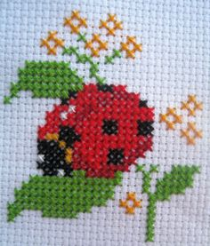 Click o close image, click and drag to move. Use arrow keys for next and previous. Mini Cross Stitch, Cross Stitch Cards, Cross Stitch Animals, Cross Stitch Flowers, Cross Stitching, Cross Stitch Embroidery, Embroidery Patterns, Hand Embroidery, Funny Cross Stitch Patterns