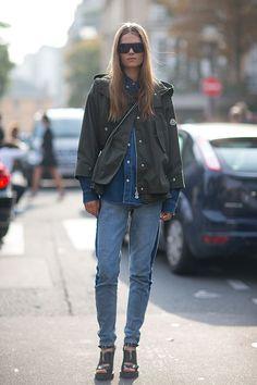 Street Style: Paris Fashion Week Spring 2014 - Caroline Brasch Nielsen