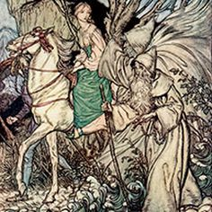 Arthur Rackham Biography: Rackham (1867 - 1939) was one of the most celebrated artists of the Golden Age of Illustration; an artist who still delights...
