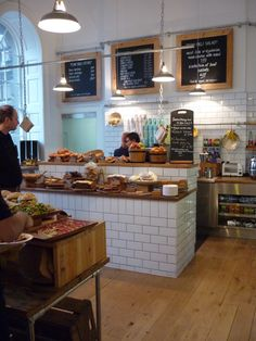 Tom's kitchen Deli at Somerset House, London.