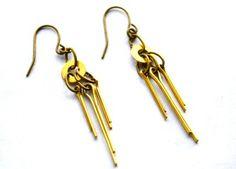 DECO Repurposed Hardware Jewelry EARRINGS by hardwearjewelryshop