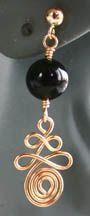 Spiral Diamond Beaded Earrings jewelry making project