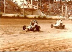 Couple of V Dubbs Thrashing it out Sprint Car Racing, Dirt Racing, Old Race Cars, Dirt Track, Cushion, Couple, Life, Vintage, Pillows