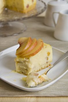 Artravelling: Torta di Pesche con Crema Cotta