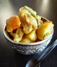 Curry de poulet aux légumes trop trop bon !