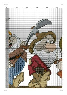 Disney Hama Beads Pattern, Disney Cross Stitch Patterns, Hama Beads Patterns, Cross Stitch Designs, Beading Patterns, Graph Crochet, C2c Crochet, Dimensions Cross Stitch, Christmas Cross