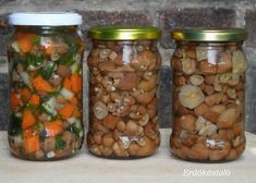 Hungarian Recipes, Preserves, Pickles, Cucumber, Goodies, Beans, Food And Drink, Tasty, Paleo