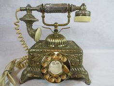 Vintage, Works, Corded RADIO SHACK IMPERIAL CLASSIQUE PHONE ROTARY DIAL ~Korea #RadioShack