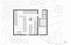 Gallery of Estrela Cementery / Pedro Pacheco + Marie Clément - 26 Siena, Floor Plans, How To Plan, Gallery, Architectural Drawings, Cemetery, Architecture, Plants, Architecture Drawings