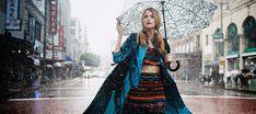 Elyse Saunders Rain Girl Elyse Saunders by David Burton Rain Girl Elle Italia April 2011 71 Rain Fashion, Rainy Day Fashion, Girl Fashion, Style Fashion, Fashion Dresses, Rain Girl, Monsoon Clothing, Chuva Fashion, Photo Shoot