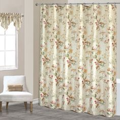 United Curtain Chantelle Shower Curtain 70 by 72Inch Multi ** Click on the image for additional details.