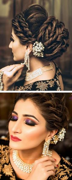 fashion bridal hairstyles #weddingnet #india #indian #indianwedding #weddingdresses #mehendi #ceremony #realwedding #lehenga #lehengacholi #choli #lehengawedding #lehengasaree #saree #bridalsaree #hair #bridalhair #hairstyle #mehendihairstyle #top #bride #fashion #everything #diy #popular #wedding