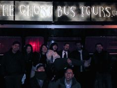 The Ghost Bus Tour. 22nd November 2013