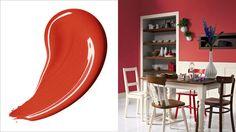 Rood is de meest energieke kleur in het spectrum, het geeft een ruimte een warme en gezellige uitstraling.