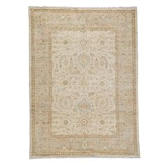 """Oushak Collection Oriental Rug, 5'2"""" x 7'"""