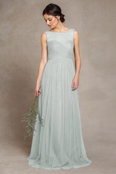 Bridesmaid Dress Color: Sea Glass