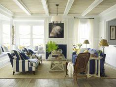 Beach house living room...