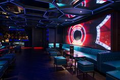 Exclusive elite night club design. Night club Boujis, Hong Kong  http://www.justleds.co.za