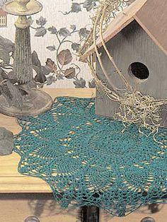 Crochet - Doilies - Pineapples - Starburst Pineapple Doily - #FC00256