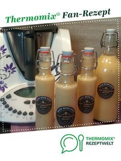 """Eggnog, the """"best""""!Eggnog, the """"best""""! from Iris' LilaLauneKüche. A Thermomix ® recipe from the drinks category at www.de, the Thermomix ® Community.Non-alcoholic cocktails: cool drinks for children cl peach nectar 6 cl pineapple juice Fruity Drinks, Refreshing Drinks, Fun Drinks, Easy Drink Recipes, Coffee Recipes, Cocktail Recipes, Budget Recipes, Four Loko, Cooking On A Budget"""