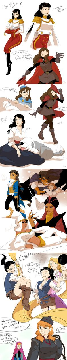 genderbending prince to princess by LiaOh on deviantART