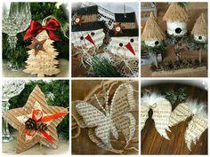 Ανακύκλωση χαρτιού, οικολογικά Χριστουγεννιάτικα στολίδια και νότες!