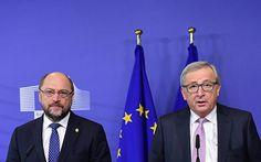 """Die Wahlversprechen von SPD-Mann Martin Schulz sind nur heiße Luft: """"Martin Schulz war lange Zeit Präsident des Europäischen Parlaments. Er hätte so viele Möglichkeiten gehabt, einzugreifen. Und er hat nichts getan."""" Das sagt Whistleblower Vollenweider und verweist auf den Luxleaks-Skandal, bei dem in Luxemburg Großkonzerne ihre zuzahlenden Steuern selbst bestimmten ..."""