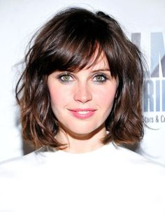 Medium Length Hairstyles With Bangs Stunning Hair Styles With Bangs For Short Hair  Pinterest  Bangs Medium