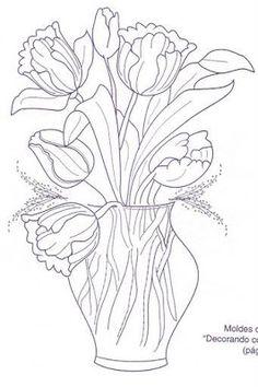 blumenvasen 30 ausmalbilder für kinder. malvorlagen zum ausdrucken und ausmalen | blumen vase