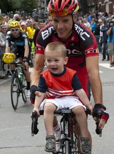 Phillipe Gilbert and son Alan- VeloNews.com