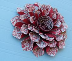 Paper Corsage .... free cut file / template download -- from Loni at Cactus & Olive