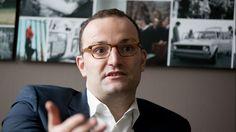 CDU-Finanz-Staatssekretär Jens Spahn gibt ein Interview