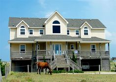 Twiddy Outer Banks Vacation Home - Sandy Paws - 4x4 - Oceanfront - 6 Bedrooms