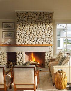 Clump Rock - contemporary - living room